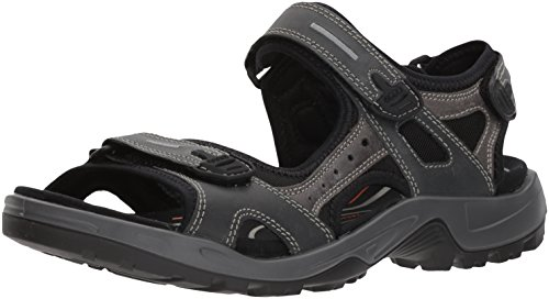 ECCO Men's Yucatan outdoor offroad hiking sandal, Marine/Marine, 49 EU/15-15.5 M US