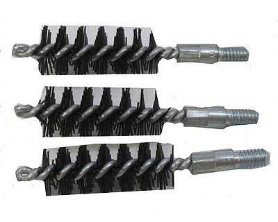 Bore Tech Nylon Pistol Brush (Pack 3), 40/41 Calorie/10mm