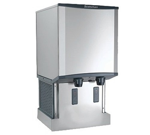 - Scotsman HID540AW-1 Meridian Ice Machine/Dispenser Wall-Mounted H2 Nugget Ice a