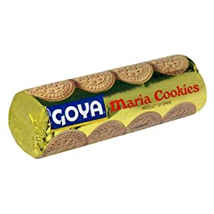 Goya Maria Cookies, 7-Ounce Tubes (Pack of 24)