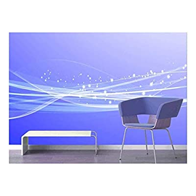 Dazzling Creative Design, Large Wall Mural Gorgeous Lines and Patterns Vinyl Wallpaper Removable Decorating, Made With Love