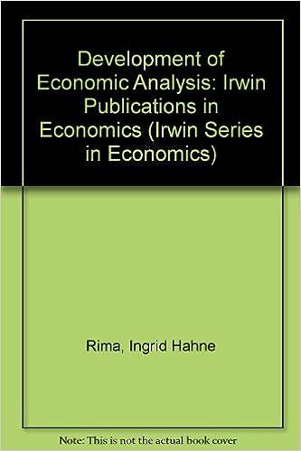 Development of Economic Analysis