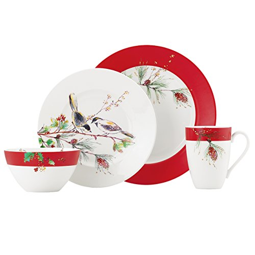 Lenox Winter Song 4-Piece Place Setting
