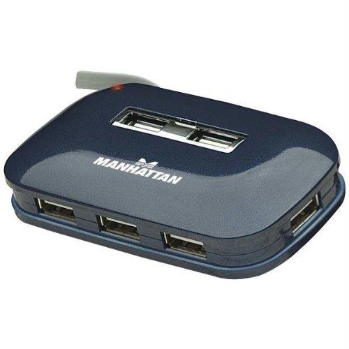 Manhattan Products 161039 7-Port USB 2.0 Ultra Hub