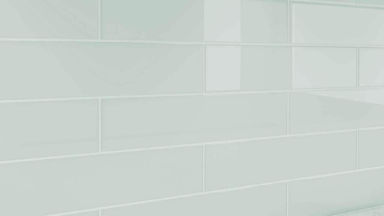 - City Gray Glass Tile. Perfect For Kitchens And Bathrooms. 3x12