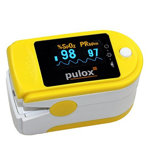 Pulsoximeter Pulox PO-200 with OLED Display Available in Different Colours by PULOX