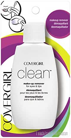 COVERGIRL Clean Makeup Remover for Eyes & Lips, 2 oz