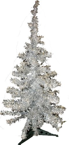 Small Silver Christmas Tree.Christmas Tree Decorations Small Silver Tinsel Xmas Tree