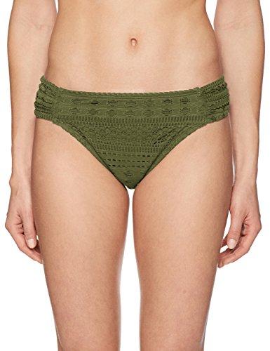 Bleu Rod Beattie Women's Crochet Ole Mix & Match 2-Piece Bikini Swim Separates, Amazon Green Bottom, - Bottom Crochet Bikini