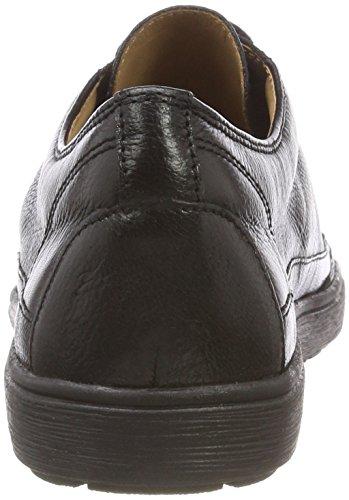 Caprice Negro Nappa Mujer Blk para Cordones Derby de Comb 26 23654 Zapatos fS7WOnBf