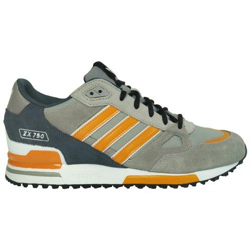 Adidas - ZX 750 - Color: Grey-Orange