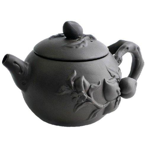 purple grit teapot - 5