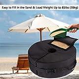 FINEST+ Patio Umbrella Base Weight Bag, 900D