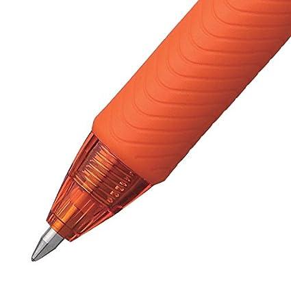 Lot de 12 Pentel EnergelX Rollers gel r/étractable pointe 0,7 mm Vert