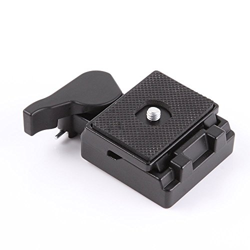 Foto4easy Quick Release Plate with Clamp Adapter for Manfrot