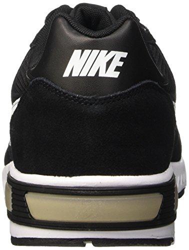 Nike Nightgazer Zapatillas de running, Hombre Negro / Blanco (Black / White-White)