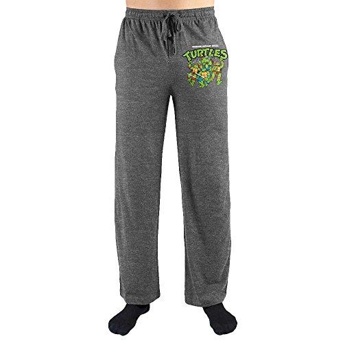 Mens Teenage Mutant Ninja Turtles Pajamas (Teenage Mutant Ninja Turtles TMNT Characters Print Men's Loungewear Lounge Pants)