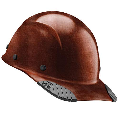 Adjustable Construction Cap - DAX Cap Style Safety Hard Hat, New & Improved 6 Pt. Adjustable Ratchet Suspension, Personal Protective Equipment/PPE for Construction, Home Improvement, Diy Projects (Natural)