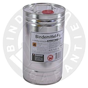 Bindemittel FU zur Selbstherstellung von Fugenplast Holzkitt (215g = 250ml Flasche) Bindulin