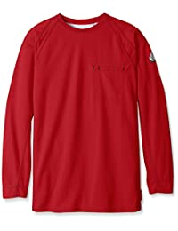Bulwark FR mens big-tall Iq Series Big-tall Long Sleeve Comfort Knit T-shirt