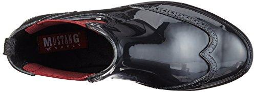 Mustang Women's 3121-501 Chelsea Boots Black (95 Schwarz/Rot) xK4TCu8VK