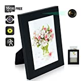 16GB Photo Frame Hidden Camera Motion Activated Home Security Camera Indoor Nanny Cam