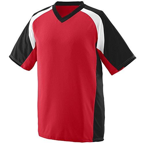Augusta Sportswear Men's Nitro Jersey XL Red/Black/White