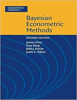 Bayesian Econometric Methods (Econometric Exercises): Amazon co uk