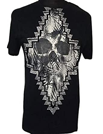 Guess Black Round Neck T-Shirt For Men