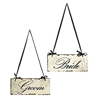 IMAX Bride And Groom Decorative Sign