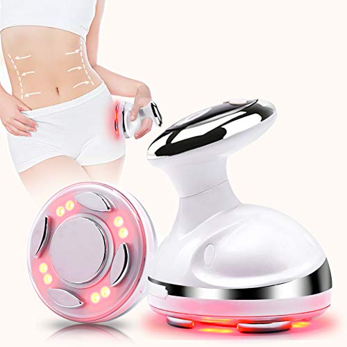 Fat Loss Machine 4 in 1 R F Weight Loss Fat Remover Machine Sonic Fat Melting Massager for Stomach with Red Light Body Shaping Machine Belly Massager Skin Care Beauty Device
