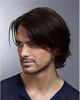 Super Amazon Com Topwigy Men Medium Style Short Layered Wigs Oblique Schematic Wiring Diagrams Phreekkolirunnerswayorg