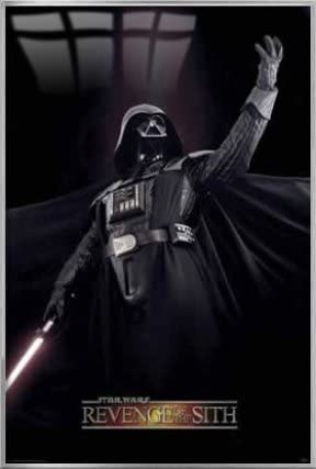 Amazon Com Star Wars Episode Iii Revenge Of The Sith Framed Movie Poster Print Darth Vader Victory Pose Size 27 Inches X 40 Inches Posters Prints