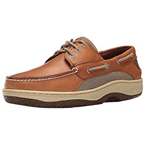 Sperry Top-Sider Men's Billfish 3-Eye Boat Shoe, Dark Tan, 14 M US