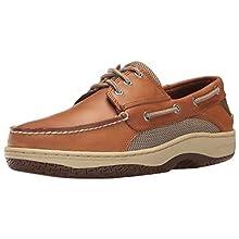 Sperry Men's Billfish 3-Eye Boat Shoe, Dark Tan, 11 W US