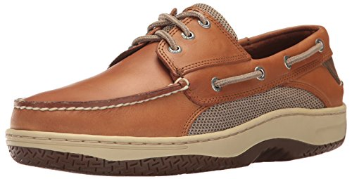Sperry Top-Sider Men's Billfish 3-Eye Boat Shoe, Dark Tan, 10 M US
