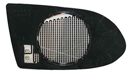 Cristal placa espejo retrovisor Zafira 1999-2003 derecho t/érmico