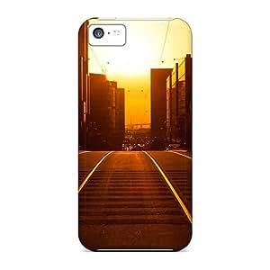 Ideal HHaroldshon Case Cover For Iphone 5c(sunset Cityscapes), Protective Stylish Case