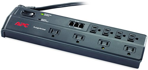 APC Outlet Surge Protector with Telephone, DSL and Coaxial Protection
