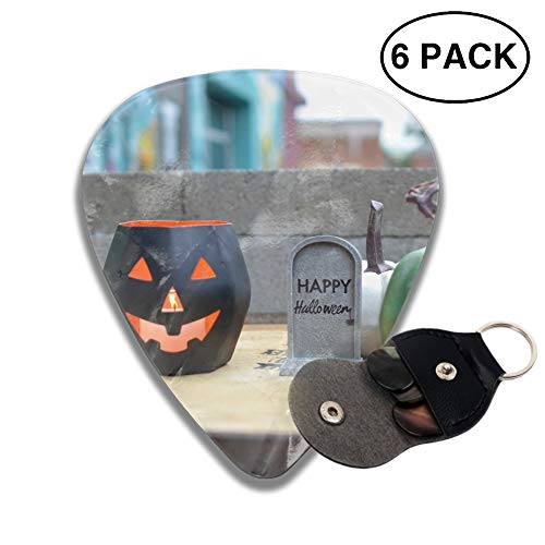 Celluloid Guitar Picks 3D Printed Happy Halloween Best Guitar Bass Gift for Lover -