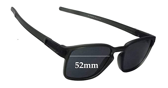 a817d49f77 Amazon.com  SFx Replacement Sunglass Lenses fits Oakley Square Latch OO9353  52mm wide (Polycarbonate Clear Hardcoat Pair-Regular)  Clothing