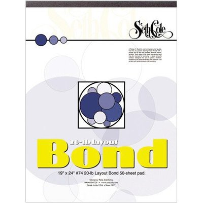 Layout Bond Paper Pad Size: 24