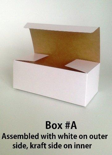 Paquete de 3 Cajas De Regalo Pequeña (código #a) Cartulina Flat Pack Asamblea