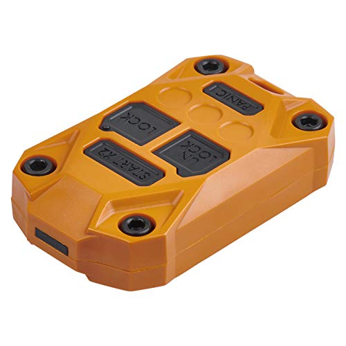 AJT DESIGN Injection Fob Case (Jeep Wrangler JK) Orange
