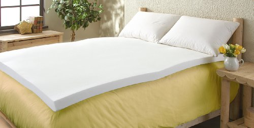 Comfort Revolution 3'' Memory Foam Mattress Topper, Twin by Comfort Revolution