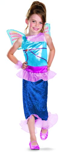 Disguise Girl's Winx Club Bloom Mermaid Classic Costume, 10-12 -