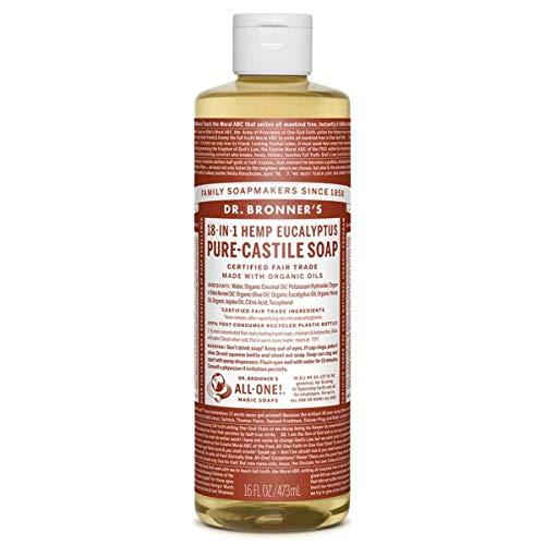 - Dr. Bronner's Pure-Castile Liquid Soap - Eucalyptus - 16 Oz