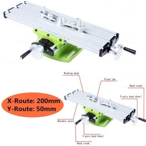 Mini Multi-Function Desktop Bench Drill Slide Table Milling Machine