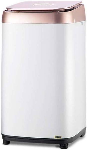 RMXMY Mini portátil de pequeño tamaño Lavadora - de Gran Capacidad, Perfecto for Apartamentos, Casas rodantes y de la Pequeña Sala de Estar de 390 × 420 × 720 mm (Blanco)