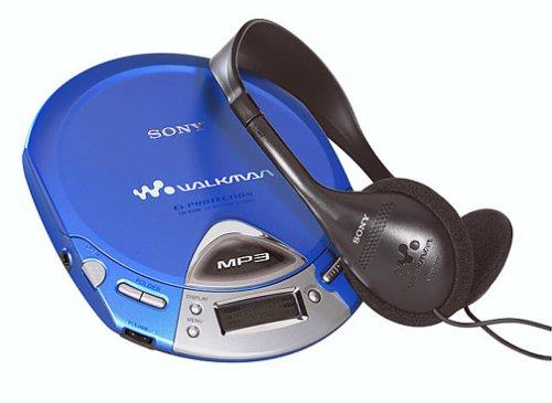 Sony D-CJ500 Portable CD/MP3 Player